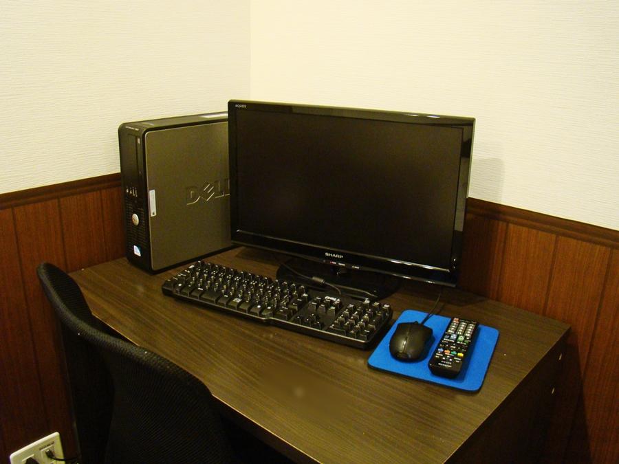 テレビとコンピューター